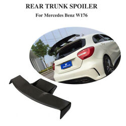 Racing Rear Roof Spoiler Wing Carbon Fiber For Benz W176 A180 A200 A45amg 13-18