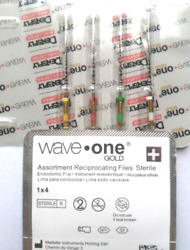 Waveone Gold Wave One Assorted Endodontic File Root Canal Dentsply 4pk 25mm 100x