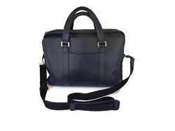 3.6k Bvlgari Men Woman Leather Business Office Leather Two Way Shoulder Bag