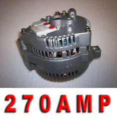 1 One Wire High Output Ford Mustang Bronco 1987 1993 3g Large Case Hd Alternator