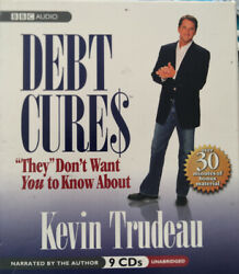 Debt Cures, Kevin Trudeau, Effective Lessons To Avoid And Recover From Debt 9 Cd