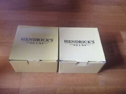 Hendricks Gin Scotland 2 Cups And Saucers In Presentation Boxes.