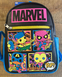 Funko POP Marvel Black Light Mini Backpack Target EXCLUSIVE **SOLD OUT** NEW $30.00