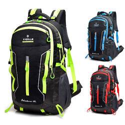 60L Waterproof Camping Backpack Laptop Compartment Sport Travel Hiking Daypack $21.98