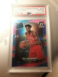 OG Anunoby RC Rated Rookie Optic holo Pink Prizm 25!!! SSP OG OH MY!!