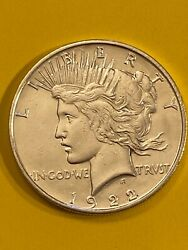 Liberty 1922d Silver One Dollar Free Shipping