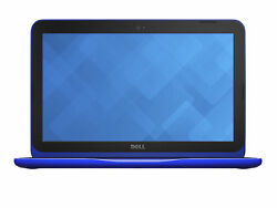 Dell 11.6 Hd Touch Display Laptop Celeron N3060/2gbram /32gb Ssd Win10-blue