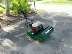 Masport Olympic 660 Professional Reel Mower With Steal Basket