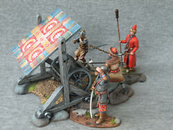 Russian Streltsy With A 7 Barrel Gun Elite Tin Soldiers Scale 1/32 54 Mm