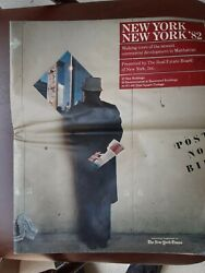 New York Times Supplement October 1982 Ny Commercial Real Estate New Buildings