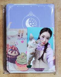 Chung Ha Chungha 2020 Fanmeeting Official Goods Passport Case And Mini Note Sealed