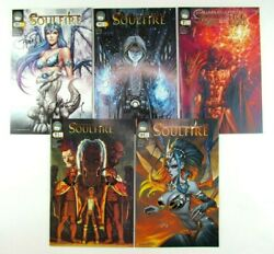 Soulfire 0 2 4 8 + Variants Multiple Volumes Aspen Comic Book Lot Signed Issues
