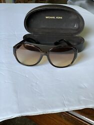 Michael Kors  Designer Womens Sunglasses And Case Brown $35.00