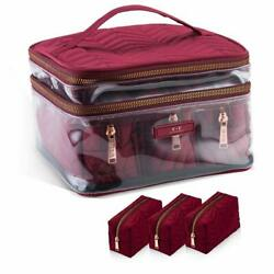 Women#x27;s Cosmetic Organizer Travel Makeup Bag Cosmetic Bag for Purse $19.99