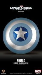 Captain America Winter Soldier Stealth Shield Beast Kingdom Ls-006 Life Size 11