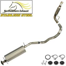 Stainless Steel Exhaust System Kit With Hangers And Bolts Fit 2003-06 Navigator