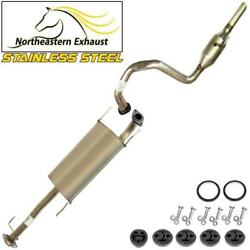 Stainless Steel Exhaust System Kit With Hangers And Bolts Fits 2010-2017 Gx460