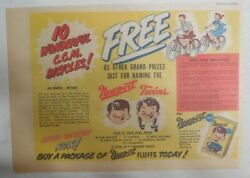 Newport Cereal Ad Ccm Bicycle Prize Premium From 1948 Size 7.5 X 10 Inches