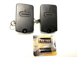 2 For Gto Mighty Mule Gate Opener Remote Control Transmitter Rb741 Fm135 Pro