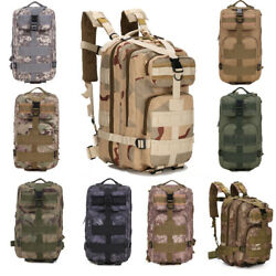 Tactical Military Molle Backpack Small Army Survival Bug Out Bag Rucksack Pack $22.99