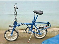 Classic 1981 Deblasi 3 Speed Folding Bike Bicycle / Message For Delivery Options