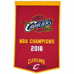 Large Sports Banner Cleveland Cavaliers Dynasty Nwt Free Shipping