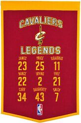 Sports Banner Cleveland Cavaliers Legends Nwt Free Shipping