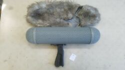 Rycote Zeppelin Windshield And Pistol Grip Mount For Shotguns Up To 13