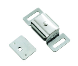 Belwith By Hickory Hardware 2-3/8 Wide Cadmium Double Magnetic Catch 10 Pack