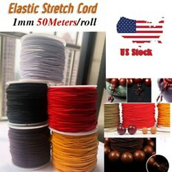 New Stretchy Elastic Crystal Thread Cord String 50M 1mm for Bracelet Beading USA