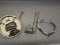 Oem Factory Gm 1941 Cadillac Gauge Speedometer Parts Lot Bezel Odometer Cable