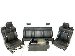 Seats Front Rear Console Fits 04-08 Ford F150 Harley Davidson Super Cab 1257