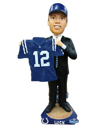 Andrew Luck Indianapolis Colts 2012 Nfl Draft Day Bobblehead Nfl