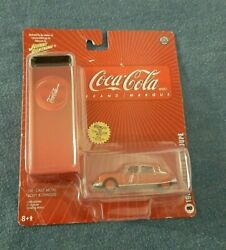 2005 Johnny Lightning Coca Cola Coke Die Cast Toy 1963 Citroen Ds Coupe New 8