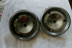 1955 Ford Tail Light Housing - Includes Socket Used Pair