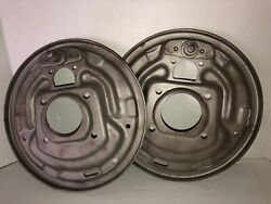 64-65 Six Cyl. Ford Falcon Mustang Comet Front Backing Plates L-r- Drum Brake
