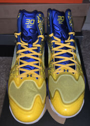New🚨under Armour Ua Micro G Anatomix Spawn The Zone Curry 1238925-407 Us Sz 11
