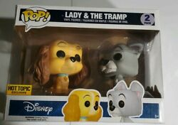 Funko Pop Disney Lady And The Tramp 2 Pack Hot Topic Exclusive