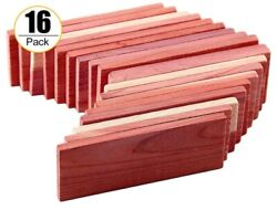 Blocks Nature Aromatic Red Planks For Home Closet Storage 16 Pieces New