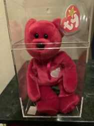 Beanie Baby Babies Valentina 1998/1999 9 Errors And Pe Pellets W/ Hologram