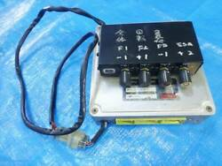 Ae86 Trd 4ag Engine Computer With Fuel Control Levin/treno/second-hand