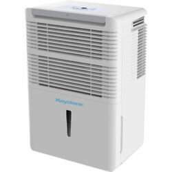 35 Pint Dehumidifier Electronic Controls Led Display With 24 Hour Timer Portable
