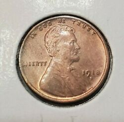 1918 D Lincoln Cent Uncirculated