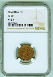 Ngc 35 Bn 1859 Indian Cent Fs 301, Snow 1