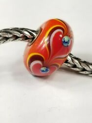 Authentic Trollbeads Eternal Love Rare Htf Limited Edition