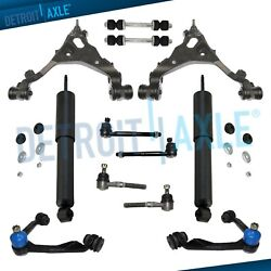 4wd Front Control Arms Shocks Tie Rods Set For 1997-2002 Ford Expedition F-150