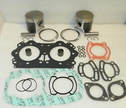 Sea-doo Rx 947 951 Carb Top End Rebuild Kit Pistons Gaskets Bearings Stock 88mm