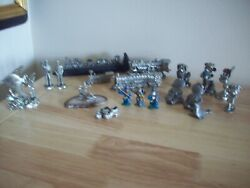 Masterworks Spoontiques Cuter Pewter Trains Wizards Castles Will Sell Seperate