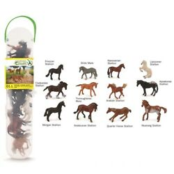 Breyer By CollectA Box of Mini Horses 12 Different Mini Horses