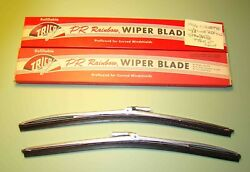 1966 Corvette / Nos Trico Wiper Blades With Satin Finish And 3 Line Refills